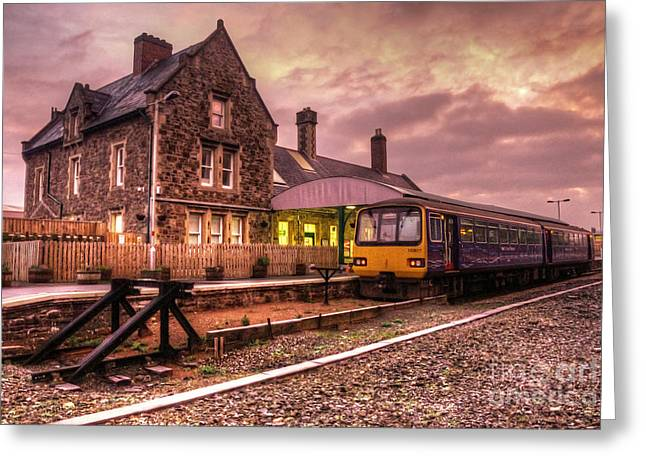 First-class Greeting Cards - Barnstaple Junction  Greeting Card by Rob Hawkins