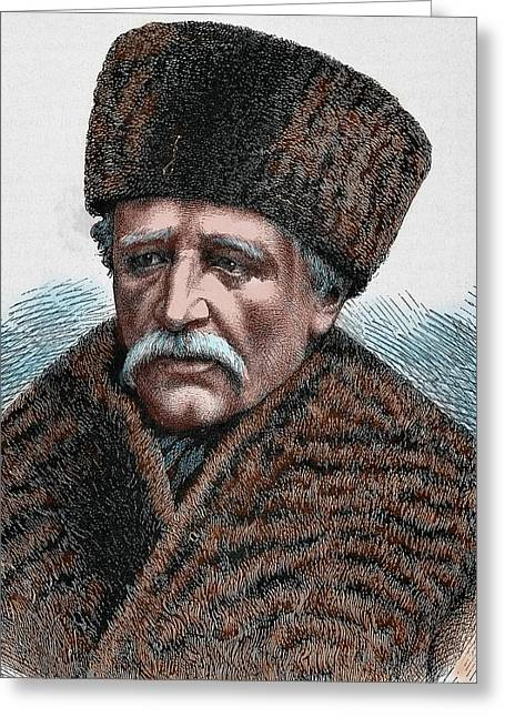 Baron Adolf Erik Nordenskjold Greeting Card by Prisma Archivo