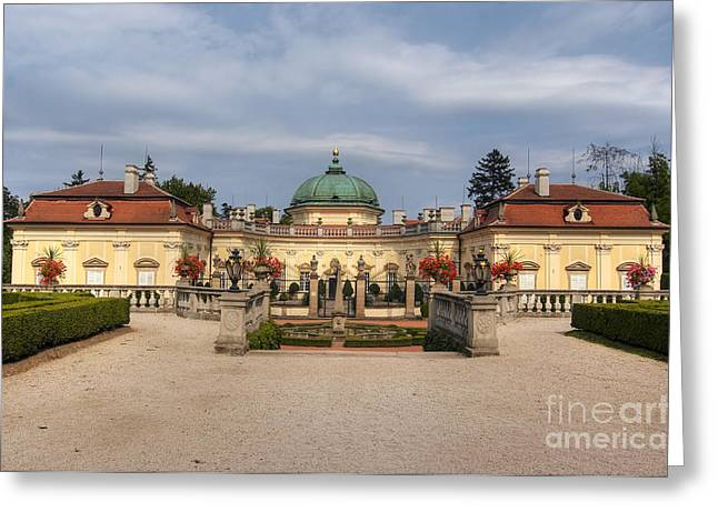Moravia Greeting Cards - Baroque landmark - Buchlovice castle Greeting Card by Michal Boubin