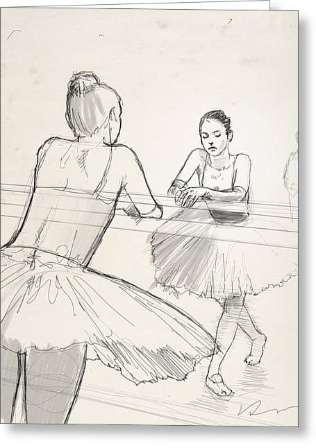 Barre. Greeting Card by H James Hoff