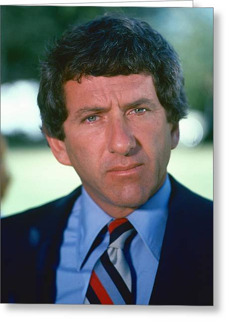 Barry Greeting Cards - Barry Newman in Petrocelli  Greeting Card by Silver Screen
