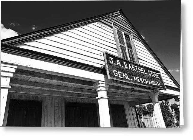 Best Sellers -  - Historic Country Store Greeting Cards - Barthel Store Greeting Card by Scott Pellegrin