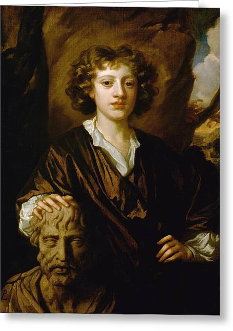 British Portraits Greeting Cards - Bartholomew Beale Greeting Card by Peter Lely