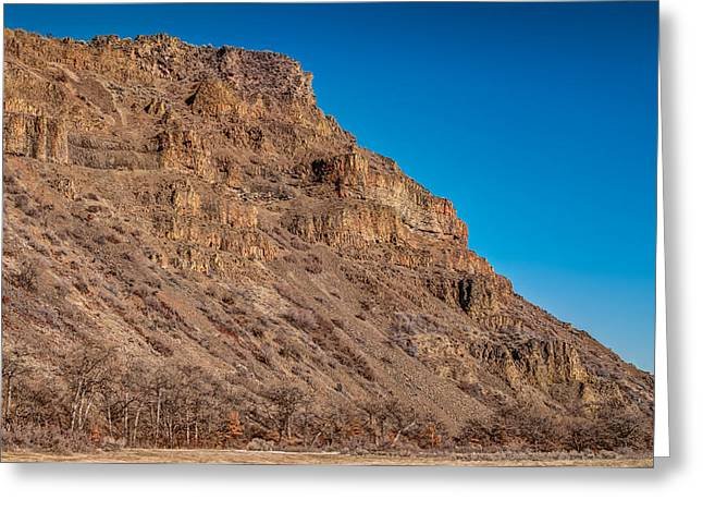 Central Washington Greeting Cards - Basalt Cliffs at White Pass Greeting Card by Rich Leighton