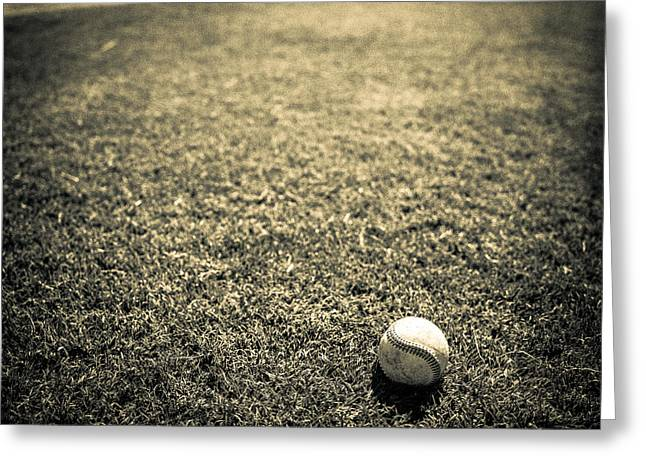 Ballfield Greeting Cards - Baseball Field 3 Greeting Card by YoPedro