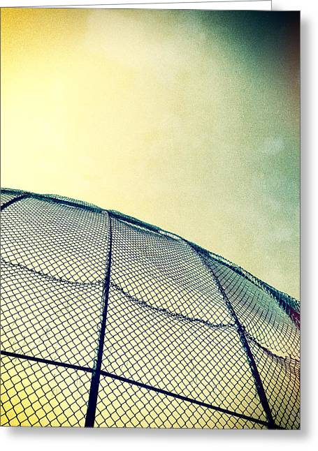 Little League Greeting Cards - Baseball Field 8 Greeting Card by YoPedro