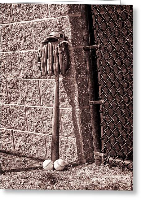 Baseball Game Digital Art Greeting Cards - Baseball Has Been Very Very Good To Me Greeting Card by Bill Cannon