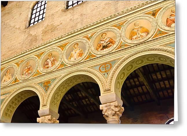 Basilica di Sant' Apollinare Nuovo - Ravenna Italy Greeting Card by Jon Berghoff