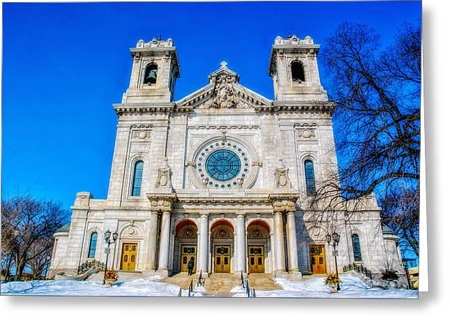 1907 Greeting Cards - Basilica of Saint Mary Greeting Card by Todd and candice Dailey