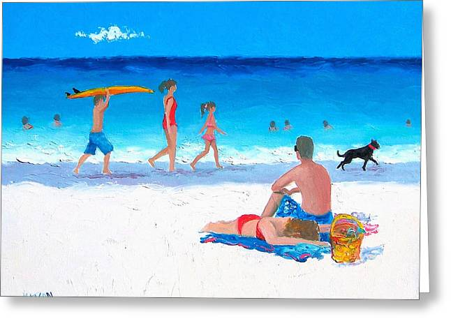 Sunbathing Greeting Cards - Bask in the sunshine Greeting Card by Jan Matson