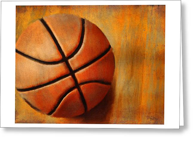 Basket Ball Greeting Card by Craig Tinder