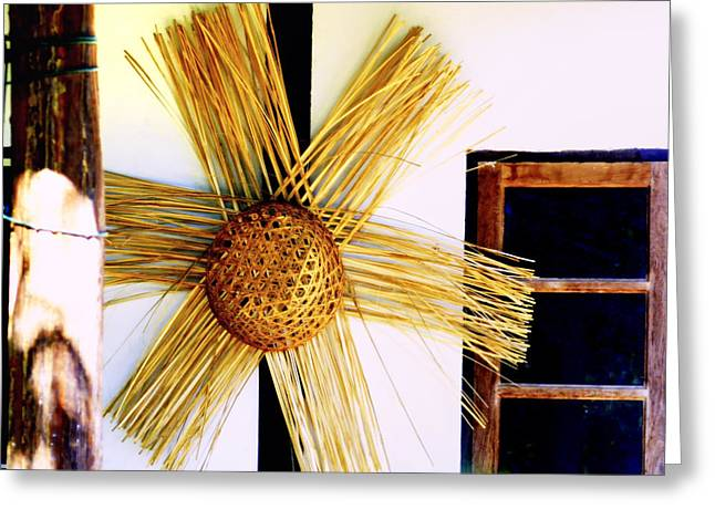 Handwork Greeting Cards - Basket case  Greeting Card by A Rey