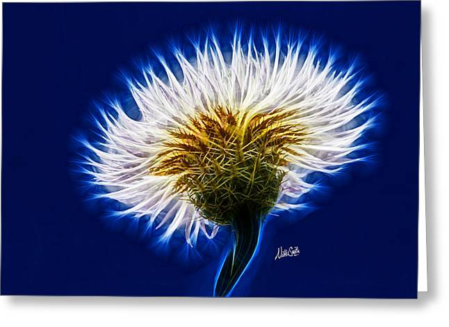 Basket Flower Inner Beauty Greeting Card by Nikki Marie Smith
