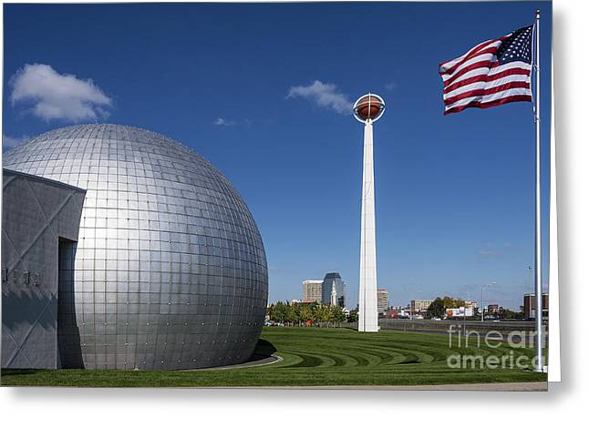 Pro Sports Greeting Cards - Basketball Hall of Fame Greeting Card by John Greim