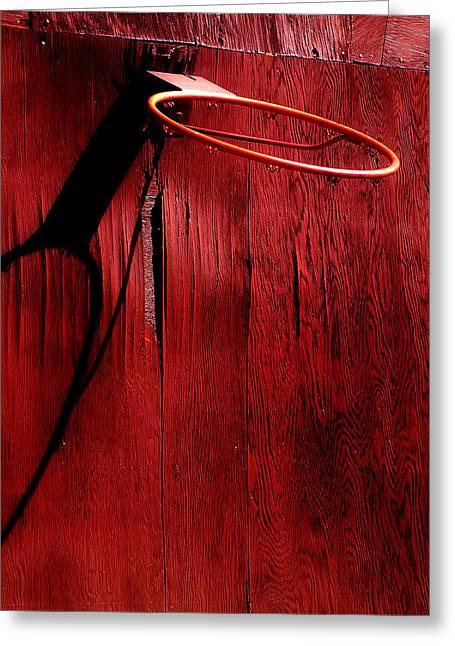 Basket Ball Game Greeting Cards - Basketball Hoop Greeting Card by Lane Erickson