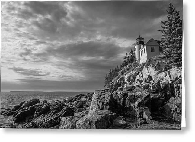 Bass Harbor Views Greeting Card by Kristopher Schoenleber