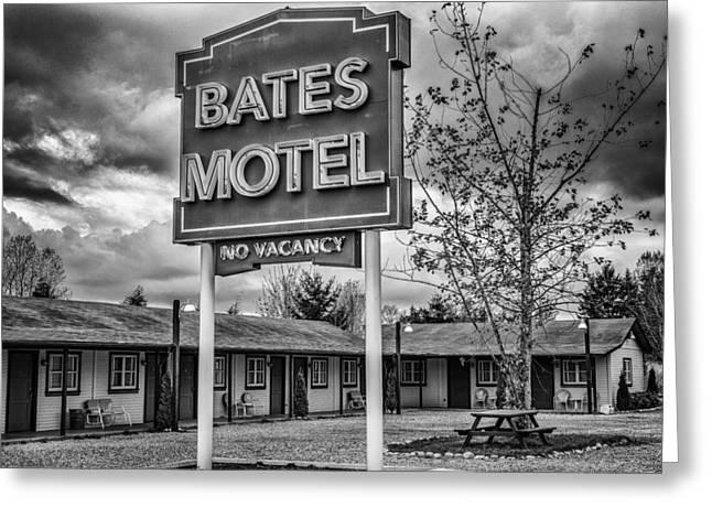 Norman Bates Greeting Cards - Bates Motel 2 Greeting Card by Craig Roberts
