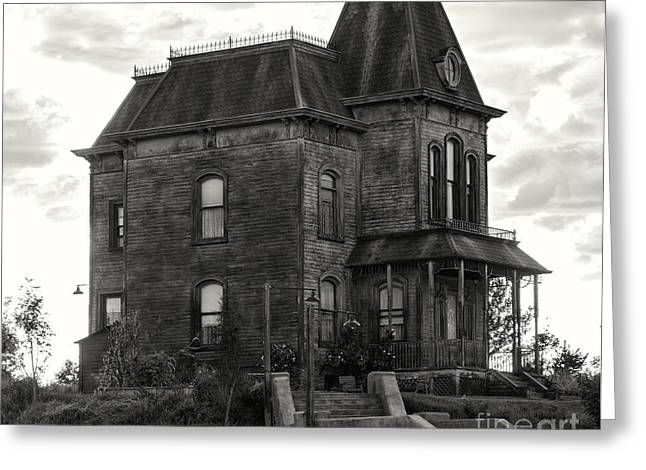 Bates Motel Greeting Cards - Bates motel  2 Greeting Card by Jim  Hatch
