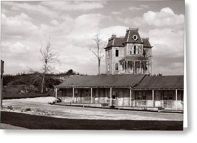 Bates Motel Greeting Cards - Bates Motel FL Greeting Card by Bruce Lennon