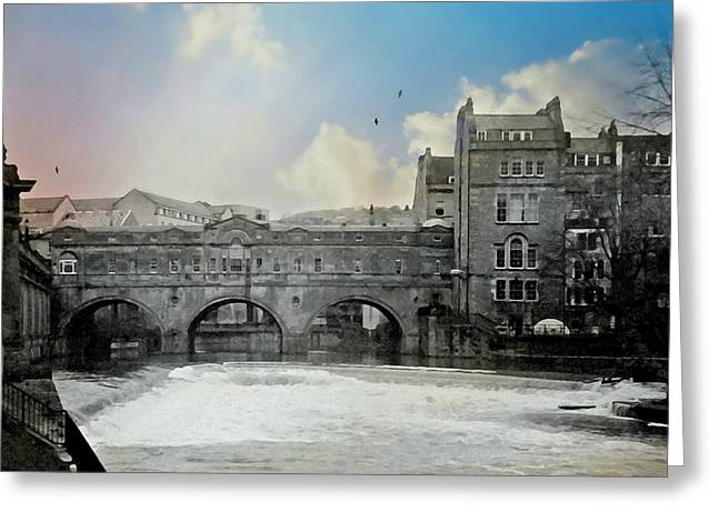 Historic England Greeting Cards - Bath England Greeting Card by Diana Angstadt