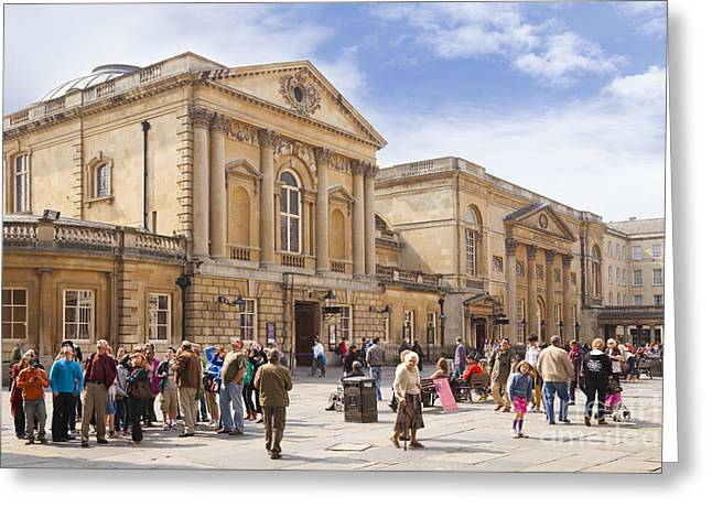Bath Somerset Greeting Card by Colin and Linda McKie