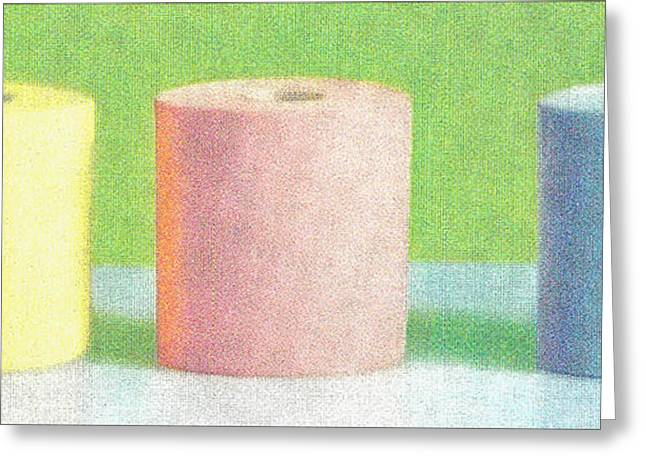 Bath tissue Now you can choose colors Greeting Card by M and L Creations