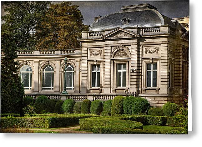 Historic Statue Greeting Cards - Bathed In Light Greeting Card by Joan Carroll