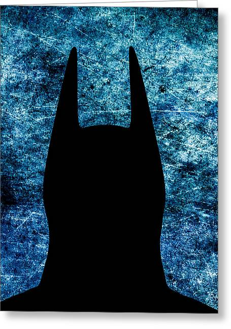 Crime Fighter Digital Art Greeting Cards - Batman - Dark Knight Number 2 Greeting Card by Bob Orsillo