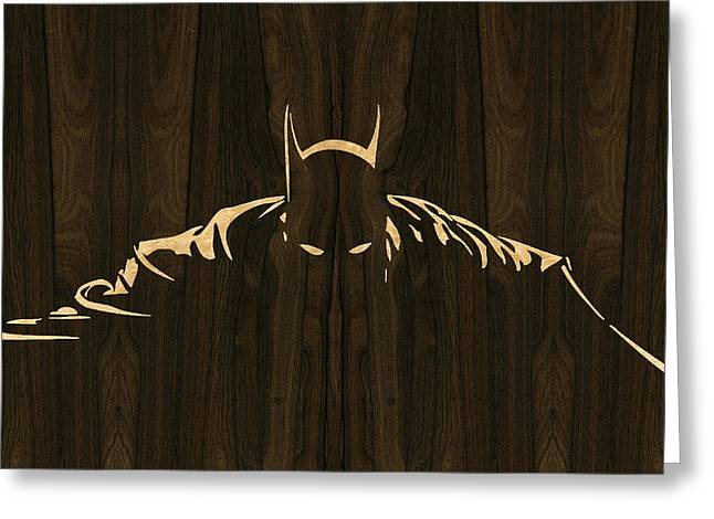 Batman Greeting Cards - Batman Fan Art 2 Greeting Card by Rick Mosher
