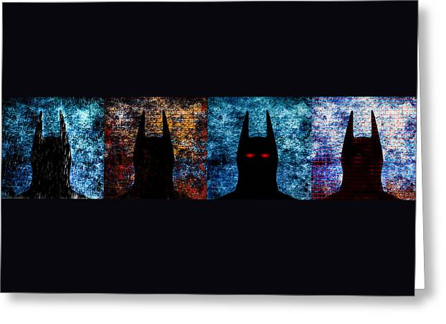 Batman - The Dark Knight Greeting Card by Bob Orsillo