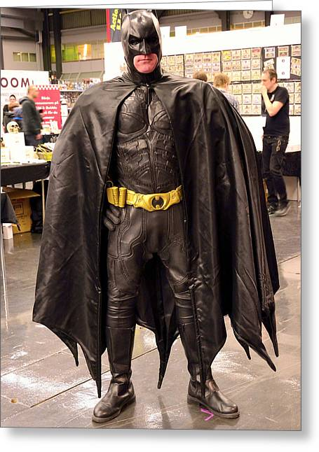 Batman Greeting Cards - Batman  Greeting Card by Toppart Sweden