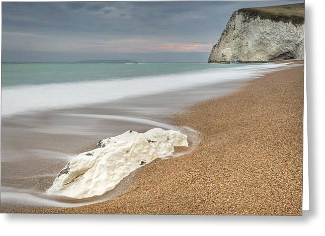 Bat's Head At Durdle Door Greeting Card by Chris Frost