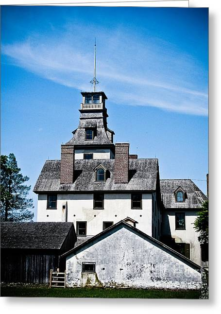 Batsto Mansion Greeting Card by Colleen Kammerer