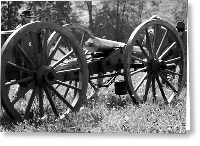 150th Commemoration Digital Art Greeting Cards - Battery on the Move - Perryville KY Greeting Card by Thia Stover