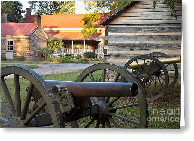 Franklin Farm Greeting Cards - Battle of Franklin Greeting Card by Brian Jannsen
