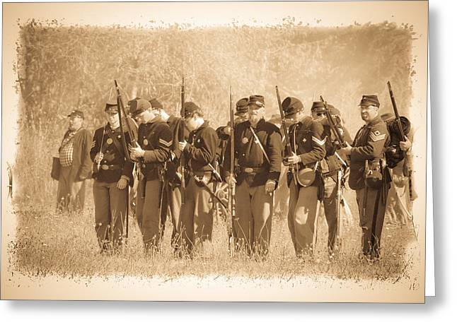 Confederate Flag Greeting Cards - Battle Ready Greeting Card by Steve McKinzie