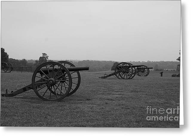 Battlefield Site Greeting Cards - Battlefield Manassas Greeting Card by Christiane Schulze Art And Photography