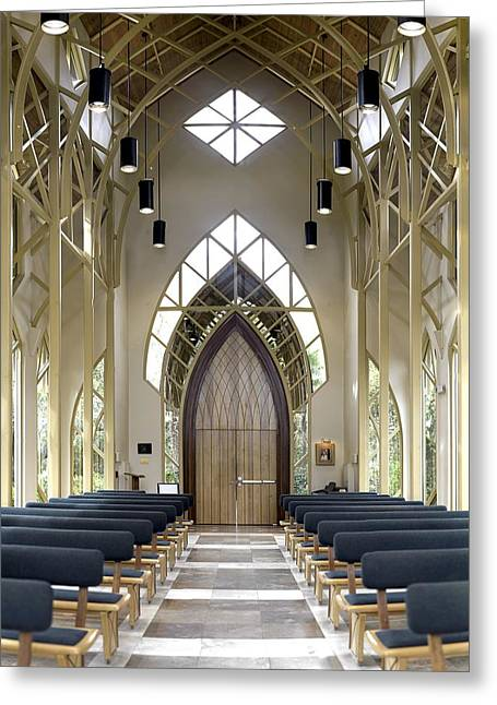 Gigapan Greeting Cards - Baughman Center Door Greeting Card by William Ragan