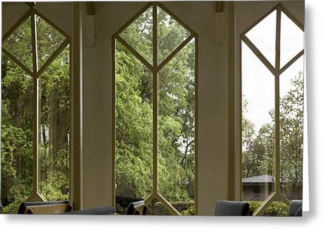 Gigapan Greeting Cards - Baughman Windows Greeting Card by William Ragan