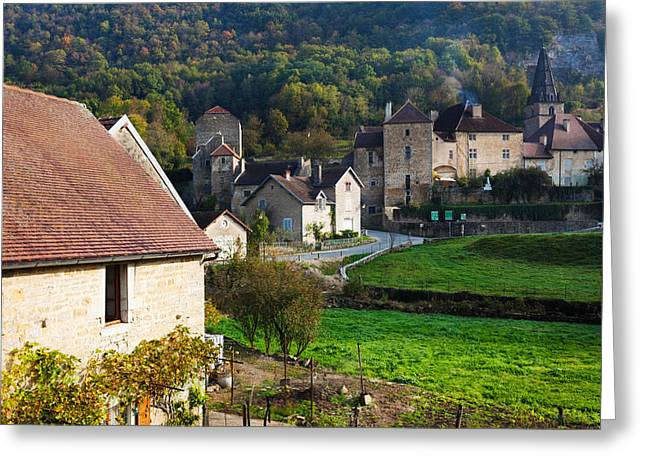 Baume Abbey Church Greeting Card by Panoramic Images