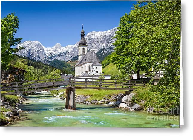 St Sebastian Greeting Cards - Bavarian Beauty Greeting Card by JR Photography