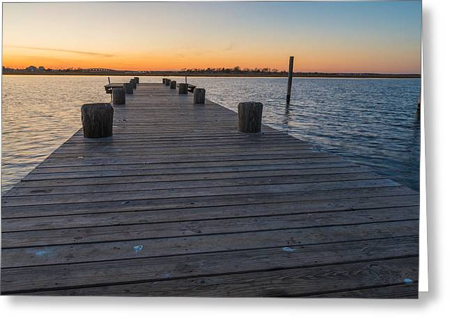 Bay Day Greeting Card by Kristopher Schoenleber