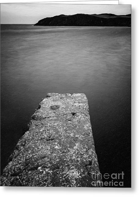 Pier Digital Greeting Cards - Bay Pier Greeting Card by Adrian Evans