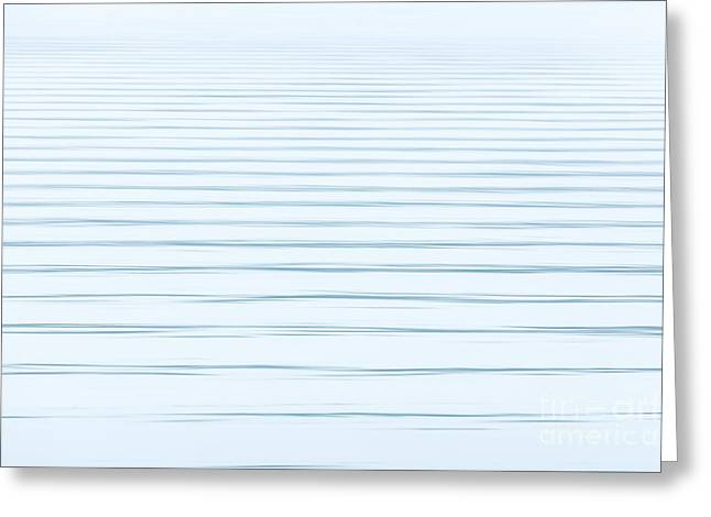 Bay Ripples Greeting Card by Susan Cole Kelly Impressions