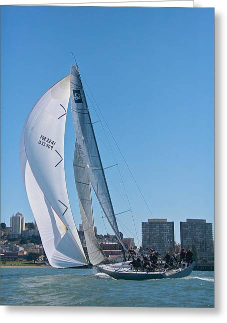 Bay Tp52 Greeting Card by Steven Lapkin