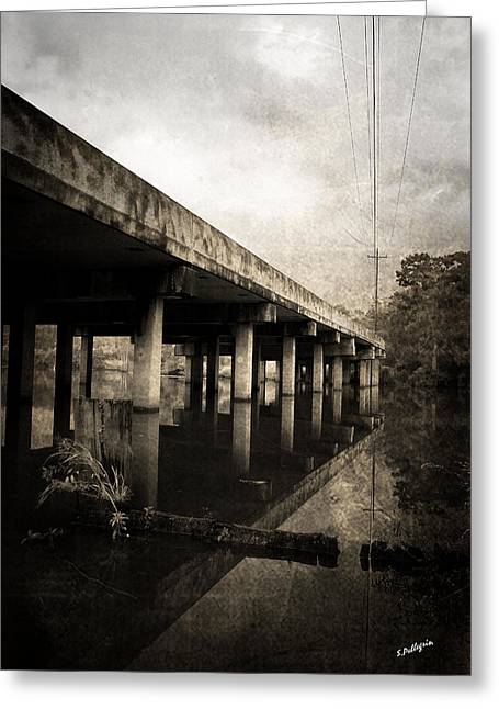 White River Greeting Cards - Bay View Bridge Greeting Card by Scott Pellegrin