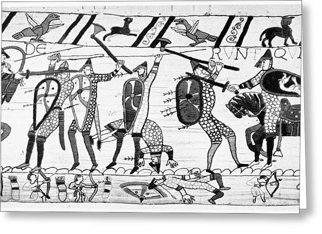 Bayeux Tapestry Greeting Card by Granger