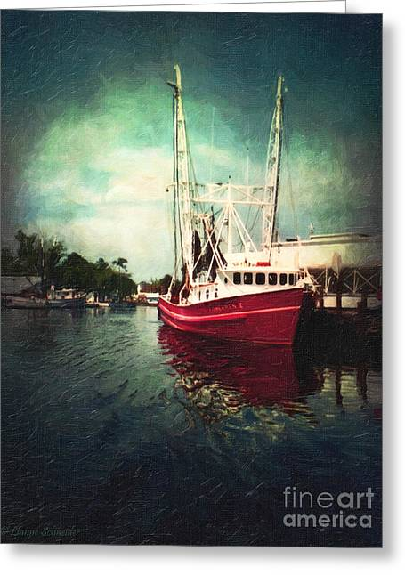 Lianne_schneider Greeting Cards - Bayou LaBatre Greeting Card by Lianne Schneider