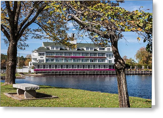 Recently Sold -  - Jacksonville Greeting Cards - Baypoint Inn at Mill Falls Meredith NH Greeting Card by Karen Stephenson