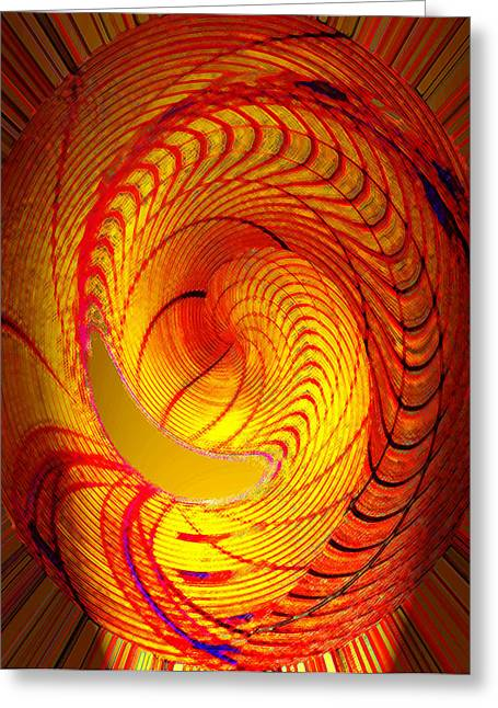 Edison Greeting Cards - Thomas Edisons vision of light Greeting Card by David Lee Thompson